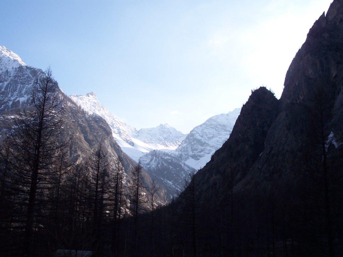 Pre de Madame Carle verso il Refuge du Glacier Blanc