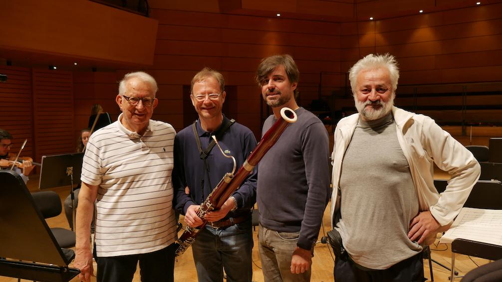 Produzione con Azio Corghi, Marco Tarlli, Paolo Carlini e con I Pomeriggi Musicali diretti da Alessandro Cadario
